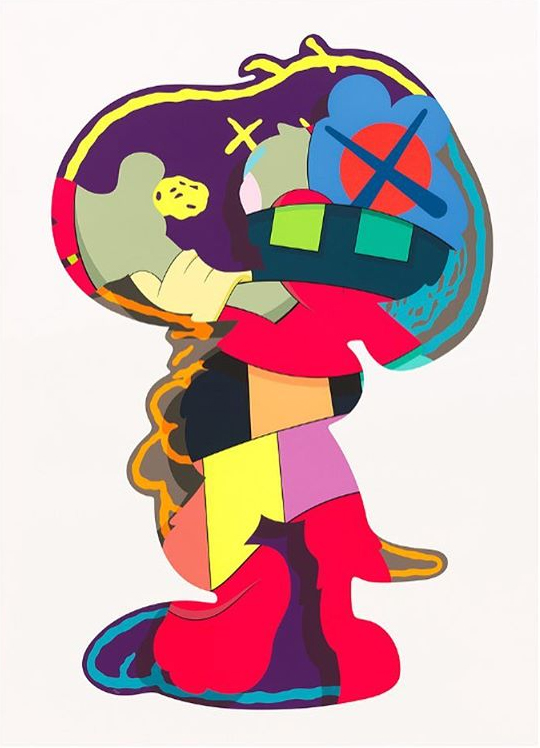 KAWS Isolation tower