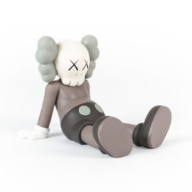 KAWS holiday brown