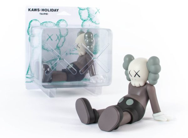KAWS holiday brown packagin