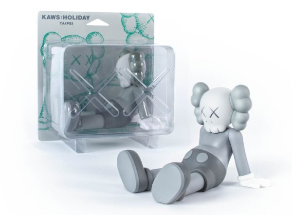 KAWS holiday grey packaging