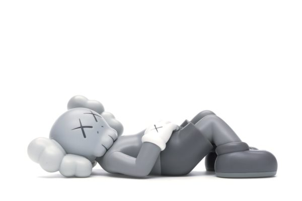 KAWS HOLIDAY JAPAN Vinyl Figure Grey