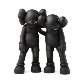 KAWS Along The Way Black figurine