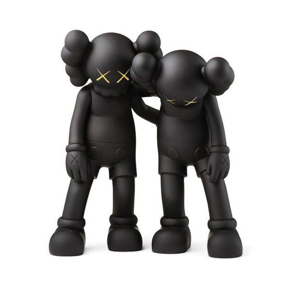 KAWS Along The Way Black figurine