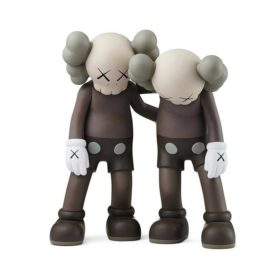 KAWS Along The Way Brown figurine