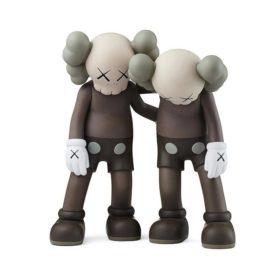 KAWS Along The Way Brown figurine