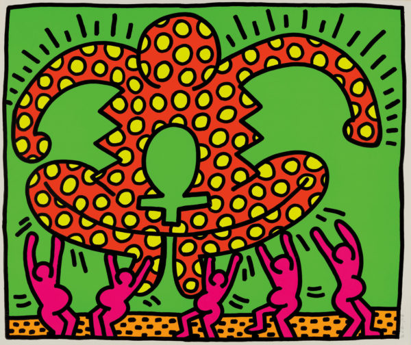 keith-haring_the-fertility-suite-one-plate