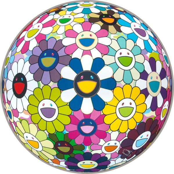 Takashi Murakami Flowerball Awakening