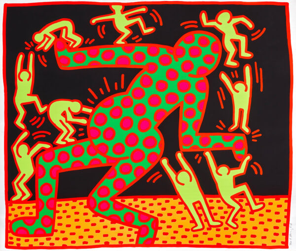 Keith Haring - The Fertility Suite: Untitled III