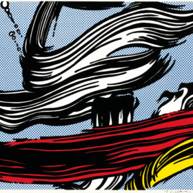 Roy Lichtenstein - Brushstrokes
