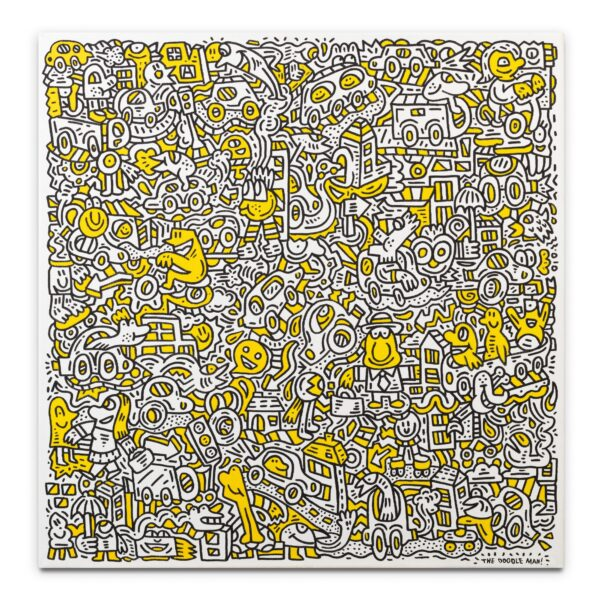 Mr Doodle - Tricky Traffic Canvas