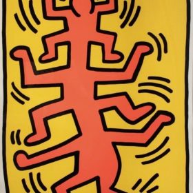 Keith Haring - Growing #1