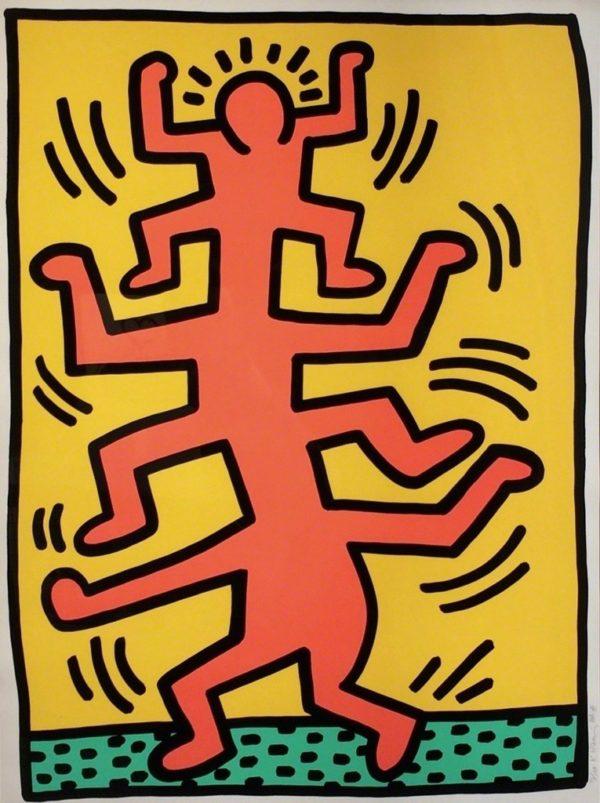 Keith Haring - Growing #1