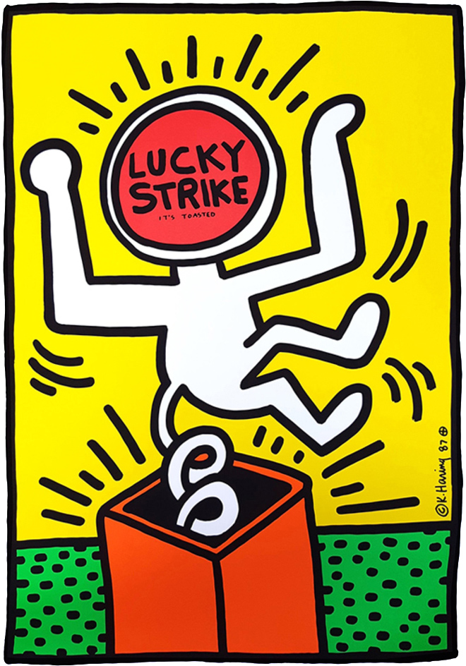 Keith Haring Lucky Strike