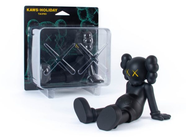 KAWS holiday black packaging